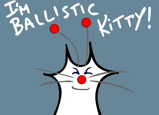 Ballistic Kitty introduces himself